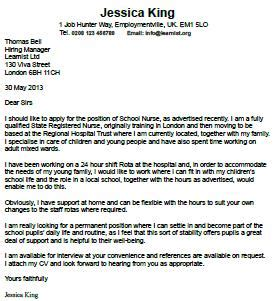 An application letter for a job pdf